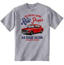 Vintage Británico Austin 1100 país Hombre-Nuevo Algodón Camiseta