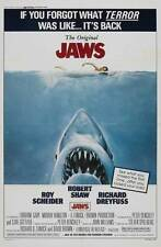 """Jaws"" Movie Poster [Licensed-New-Usa] 27x40"" Theater Size (1975) Spielberg"