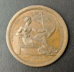 Empire Napoléon Ier Médaille La Fortune conservatrice AN IV (1803)