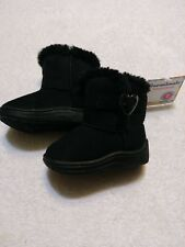 Garanimals Infant Toddler Boots Girls Black Everyday Anytime NWT size 2