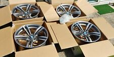 "PRISTINE 4x set Original BMW 437M 19"" Alloy Wheel M2 M3 M4 F82 F83 Ferric Grey"