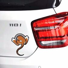 Funny 3D Mouse Tail Cartoon for Fuel Tank Car Sticker   Cool Animal Body Decal