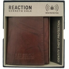 Kenneth Cole Reaction Wallet Men's Leather RFID Extra-Capacity Trifold Wallet