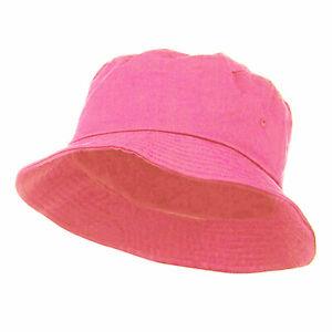Summer Bucket Hat Cap Cotton Fishing Boonie Brim visor Sun Safari Camping Hats