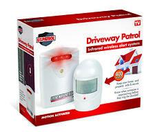 Entrada De Auto Seguridad Inalámbrica de alerta resistente a la intemperie patrulla Sistema De Alarma Sensor De Movimiento