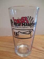 "Nascar Bud Budweiser - New Hampshire International Raceway 6"" Beer Glass"