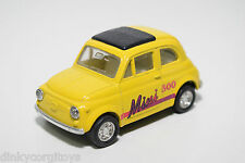 FIAT 500 WITH FRICTION ENGINE YELLOW EXCELLENT CONDITION