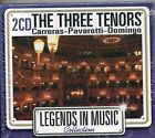 DOUBLE CD 24T THE THREE TENORS LEGENDS IN MUSIC DE 2007 NEUF SCELLE