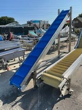 More details for conveyors incline conveyor new unused with new vulcanised belt