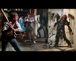 CLU GULAGER signed Autogramm 20x25cm RETURN OF LIVING DEAD In Person autograph