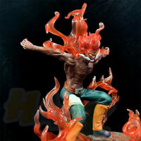 Naruto Might Guy PVC Action Figure Statue Toy Collection LED Light