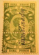 Mexico Revenue DU79b 10 Pesos thin