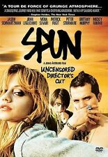 SPUN DVD. UNCENSORED DIRECTORS'S CUT (FREE SHIPPING)