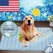 Pet Cooling Mat Cool Gel Pad Comfortable Cushion Bed for Summer Dog Cat Puppy US