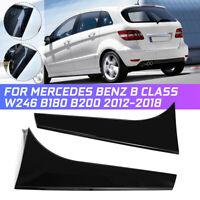 L+R Hinten Fenster Spoiler Canards Glanz Für Benz B Klasse W246 B180 B200