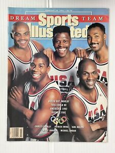 Sports Illustrated Magazine (February 18, 1991) 1992 Olympic Dream Team NBA