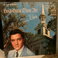 "ELVIS PRESLEY - How Great Thou Art (LSP-3758) - 12"" Vinyl Record LP - VG+"