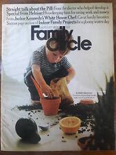 1968 FAMILY CIRCLE MAGAZINE JOHN JACQUELINE KENNEDY CHEF RECIPES 00076