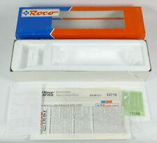 ROCO LEERKARTON 43718 E-Lok BR E 17 123 DR Leerverpackung H0 empty box OVP 1:87