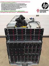 HP C7000 G2 4x HP BL620c G7 8x BL460c G7 1TB RAM 15.6TB 4Gbit SAN Solution