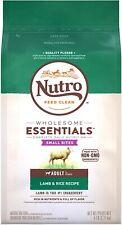 Nutro Wholesome Essentials Small Bites Adult Dry Dog Food Lamb 5lb NEW NIP