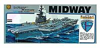 Micro Ace USS Aircraft Carrier No.8 Midway CVA-41 1/800 Scale Plastic Model Kit