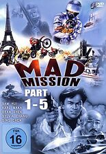 MAD MISSION - PART 1 - 5 [FSK16] (DVD) NEU+OVP