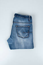 Genuine Dior Homme Ripped Distressed Blue Men Repaired Jeans in size 31