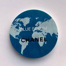CHANEL magnet brooch badge blue serum round very rare VIP GIFT