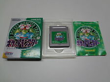 Pocket Monsters Green Nintendo Game Boy Japan