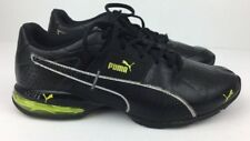 Puma Cell Surin Shoes Men's Athletic Cross Train Walk Run Black/Yellow Sz 7/39 M