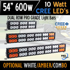 "54"" 600w LED Bar Light - CREE Dual Row - The Most Advanced in the World Today!"