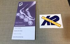 K2 RollerBlades Inline Skates Owners Manual & Sticker