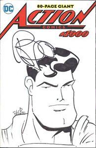 ACTION COMICS (1938) #1000 DC COVER BY JOE PRUITT #CBC4C SIGNED