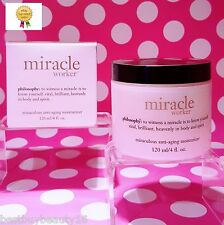 Philosophy MIRACLE WORKER MIRACULOUS ANTI AGING MOISTURIZER 4 oz JUMBO! SEALED!