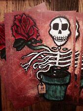 Dead Flower 11X14 Print FREE SHIPPING