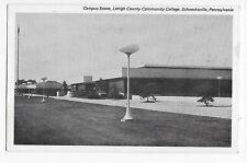 Vintage Postcard Schnecksville PA Lehigh County Community College Campus