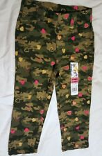 2T Garanimals Camo Camouflage Baby Toddler Girl's Printed Jeggings Free Shipping