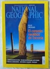 NATIONAL GEOGRAPHIC ESPAÑA - VOL. 35 - Nº 2 - AGOSTO 2014 - VER SUMARIO