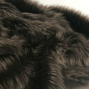 Faux Fur Fabric Piece, Many Sizes Squares! Long Pile for Crafts DIY Photo Prop