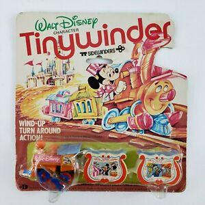 Vtg Walt Disney Tiny Winder Sidewinders Durham Wind Up Train Mickey Mouse Rare