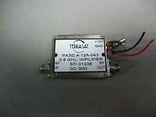 Terrasat PA3024-12A-043 5.8GHz Amplifier D/C: 0003 - USED