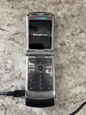 Read First! Motorola Razr V3 Verizon Purple Cell Phone Vintage Parts Repair