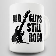 Old Guys Still Rock Gift Mug - For those who lived through classic rock