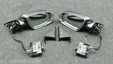 AUDI A8 A8L W12 4H Spiegel Außenspiegel Set anklappbar abblendbar Side Assist