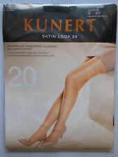8edfcf7a5f1b8 Kunert Satin Look 20 Transparent Shiny Tights Tights Black Sizes