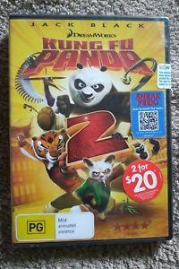 Brand New Sealed Kung Fu Panda 2 DVD PAL Region 4