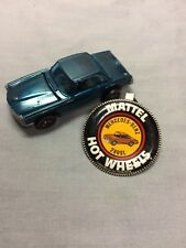 Hot Wheels Red Line 1969 Mercedes Benz 280Sl Car with button pin clip tag