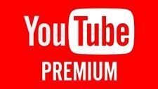 Youtube Premium privato 18 mesi Upgrade del tuo account personale
