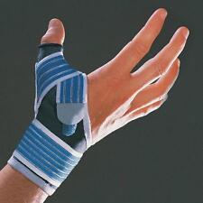 Thumb Strap Support Brace Hand Wrist Adjustable Flexiable Glove Gym Protection Large 18 - 20 Cm